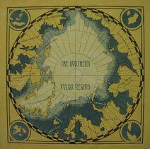 Карта Северный полярный регион концепт-арт к фильму