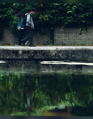 Уилл Парри отражение в воде телесериал