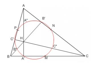Cercul celor 9 puncte (2)