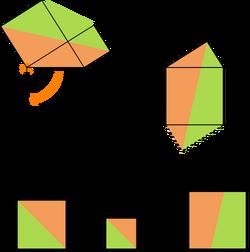 Pythagoras theorem leonardo da vinci