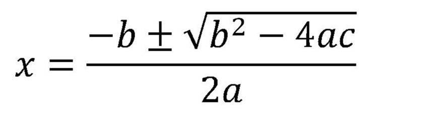 image quadratic formula jpg math wiki fandom powered by wikia