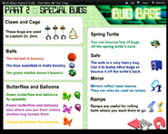 Bug Base Special powers Page