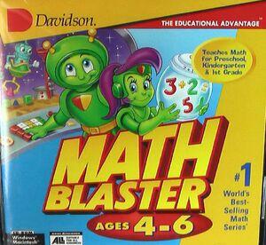Math blaster 4-6