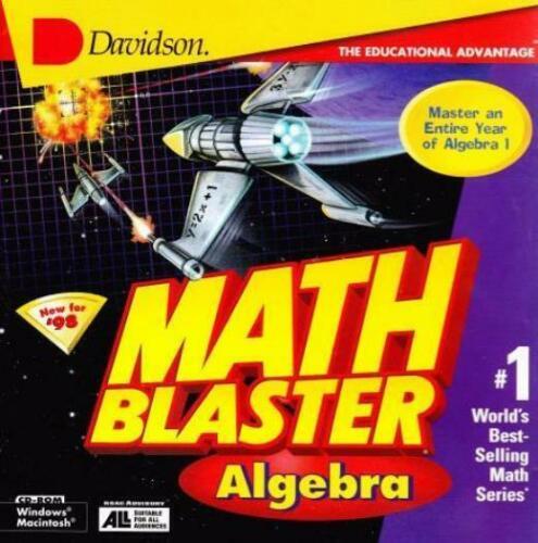 Math Blaster Algebra