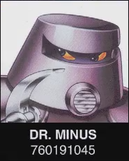 Dr. Minus Wanted Poster