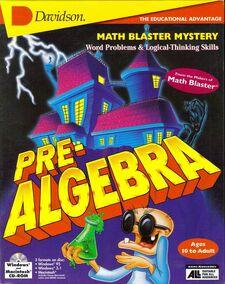 Math Blaster Pre Algebra
