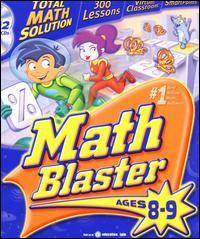 Math Blaster Ages 8-9