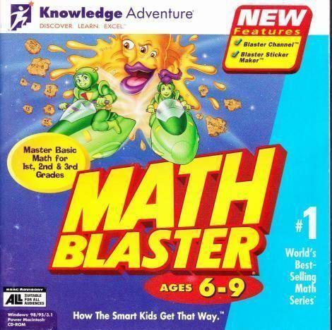 Math blaster 6-9