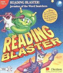 Reading Blaster Invasion of the Word Snatchers Cover