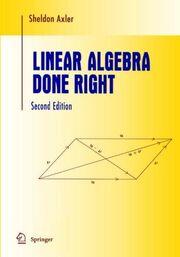 Axler-linear-algebra