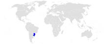Położenie Południa