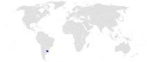 Położenie Urugwaju
