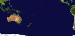 Mapa Satelitarna Oceanii