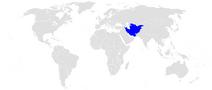 Położenie Tadżykistanu