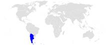 Położenie Argentyny
