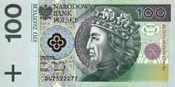 100zl awers