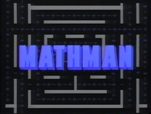 Mathman Title Card