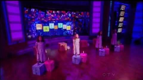 """Four Matildas from Broadway's Matilda the Musical perform """"Naughty"""" - July 26, 2013"""