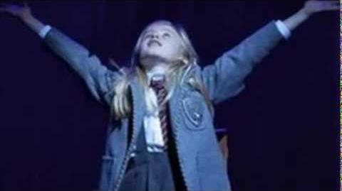Matilda the musical Josie Griffiths highlights