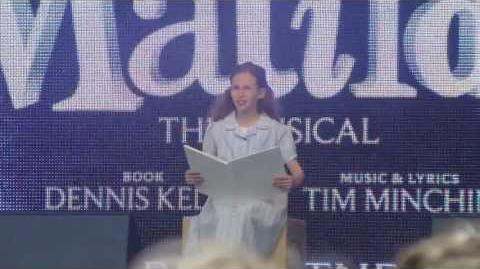 Matilda @ West End Live 2013 - Naughty-1
