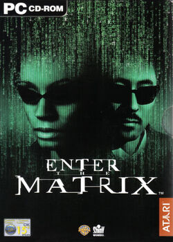Enter the Matrix (alternative cover)