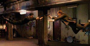 Subway Fight