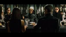 Neo and Trio Meets Merovingian