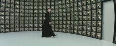 Neo heads to the Matrix
