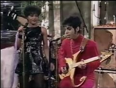 Nona Gaye and Prince