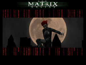 Matrix Poster- Vampire Moon