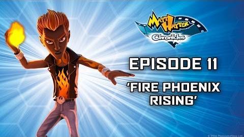 Fire Phoenix Rising