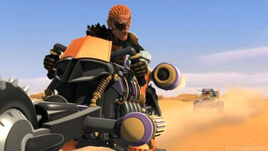 5. Cyber Racer