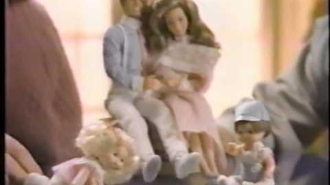 Commercial 1980's Heart Family Doll by Mattel - Toys- Girls