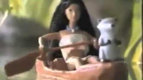 Pocahontas River Rowing MATTEL Doll Commercial