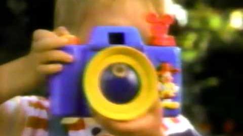 Tom Bosley Mattel Disney Fun Bubbles Camera Commercial, 1991
