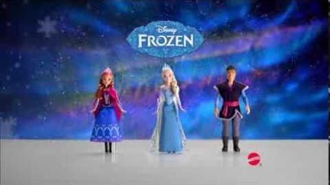 Frozen MATTEL Disney Dolls Commercial
