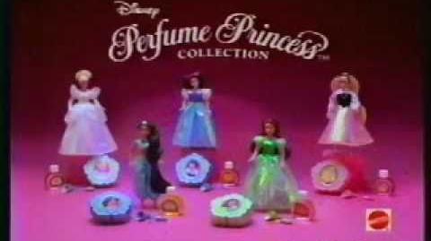 Disney Princess MATTEL Perfume Dolls Commercial