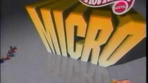 Hot Wheels Micro - Mattel - Commercial (1996)