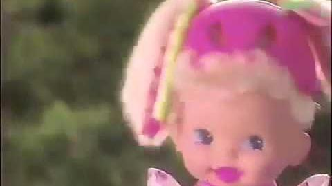 1992 baby rollerblade commercial from Mattel 90s