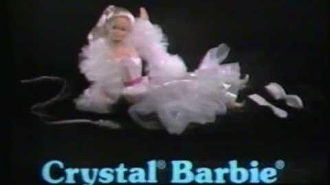 1983 Mattel Crystal Barbie commercial.