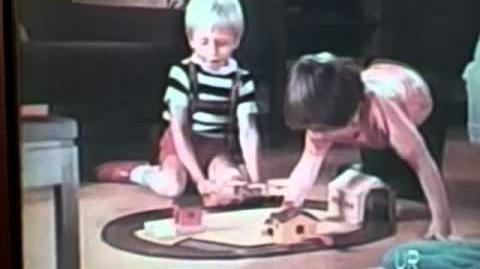 1972 Mattel Putt-Putt Railroad TV commercial