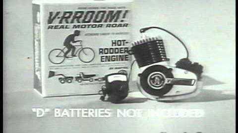 Mattel's V-RROOM Hot Rod Engine Classic Toy Commercial