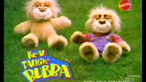 Mattel Real Talkin Bubba Bear Commercial 1997