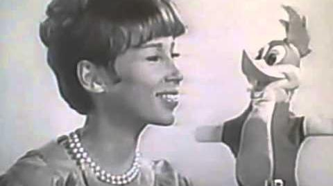 Early 1960's Mattel Talking Hand Puppets TV commercial