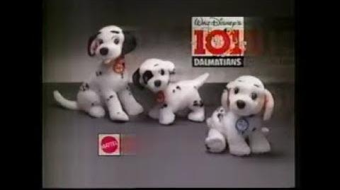 101 Dalmatians Puppies TV Toy Commercial By Mattel