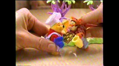 Pooh's Friendly Places Playsets Disney Mattel Toy Commercial