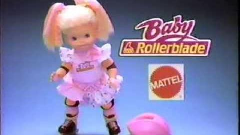 Baby Rollerblade Commercial