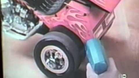 1975 Mattel Spinwelder Chopper Factory TV commercial