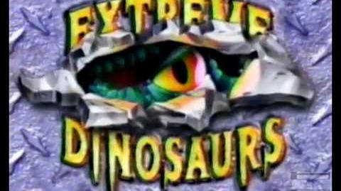 Mattel Extreme Dinosaurs Commercial circa 1995