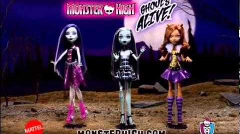 Monster High HD - It`s Alive Dolls- Mattel - Commercial tv